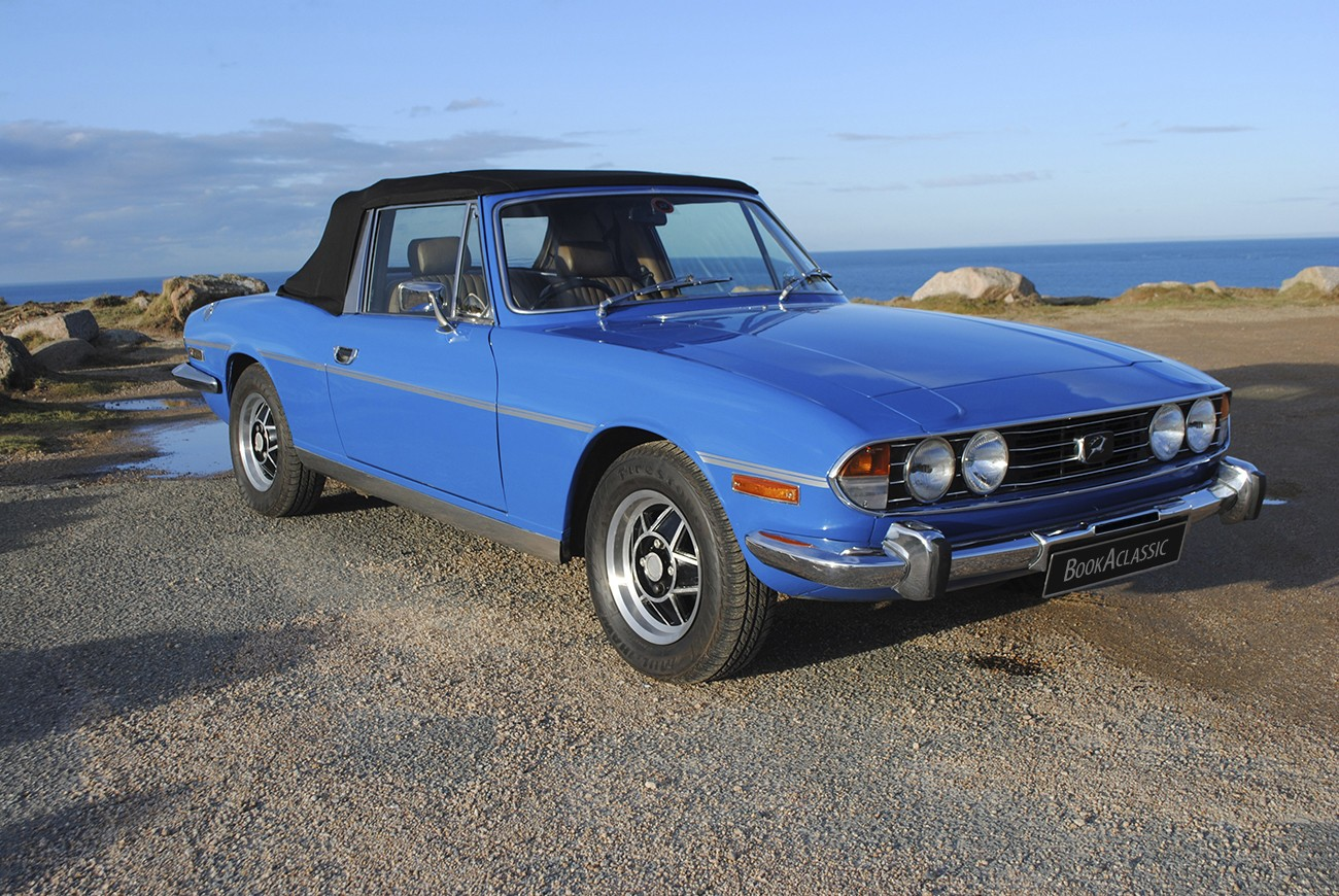 Triumph Stag wedding car